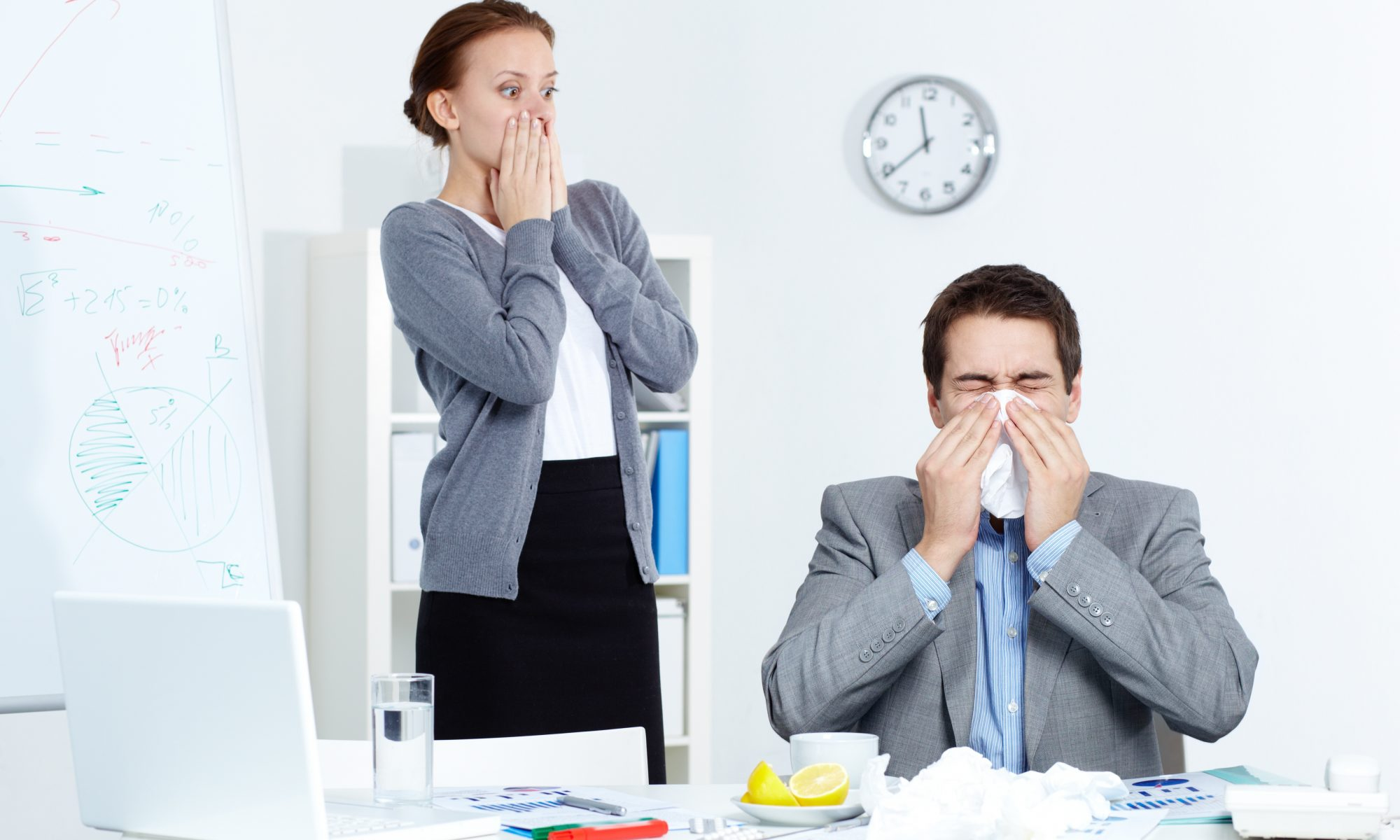 Avoid Illness In The Office